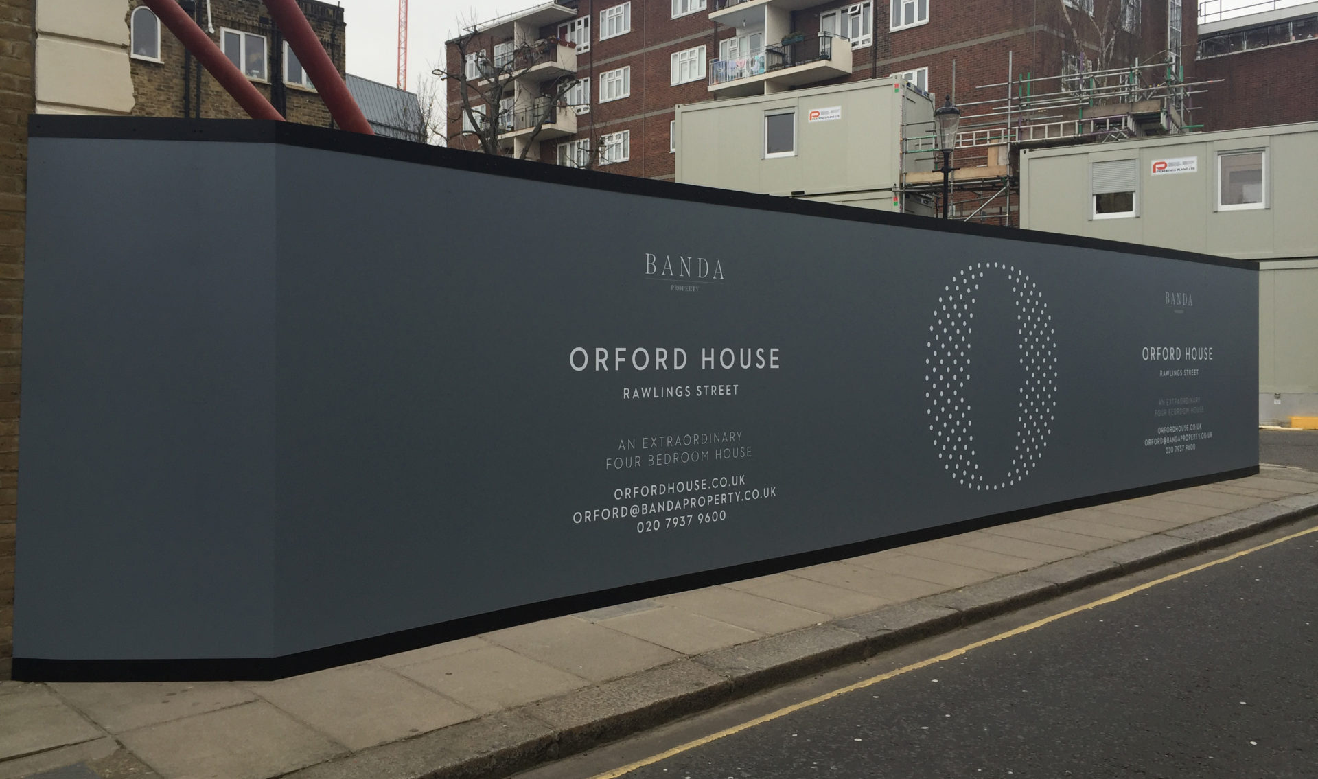 Gallery Hoarding Building Wrap And Signage Ideas Lavastar