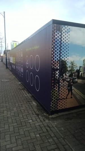 Addletsone Town Centre Hoarding