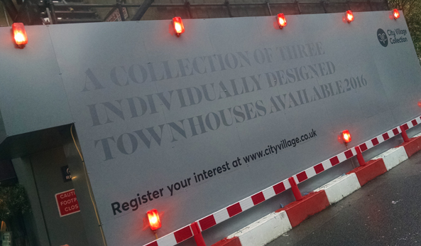 Large Hoarding Print London