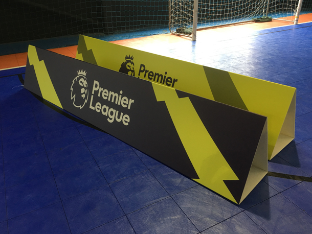 Indoor Sport Advertising Hoardings