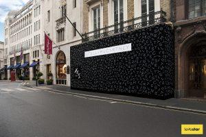 Printed Retail Fashion Site Hoarding