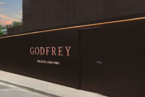 Godfrey London hoarding
