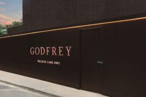 Godfrey London hoarding