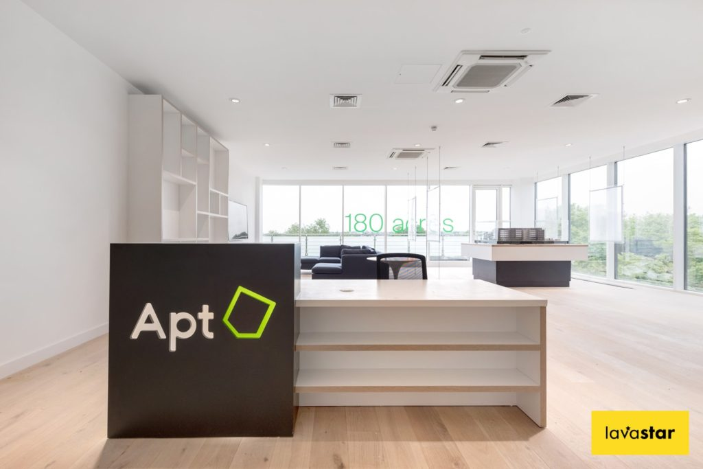 marketing suite signage and branding in London