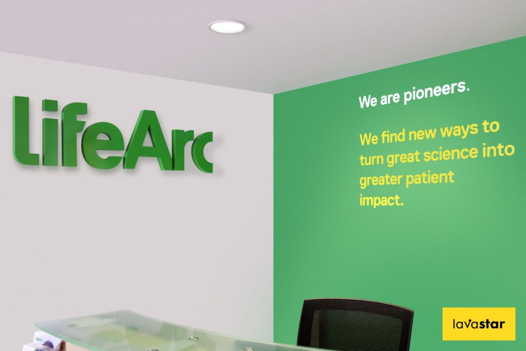 office wall branding and signage experts in london